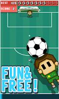 Screenshot of Super Soccer Goalie