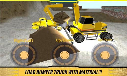 Sand-Excavator-Dump-Truck-Sim