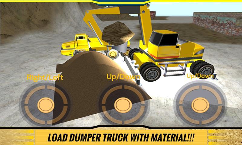 Sand-Excavator-Dump-Truck-Sim 15