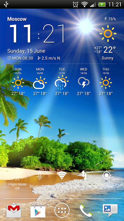 Weather Now Forecast & Widgets- screenshot