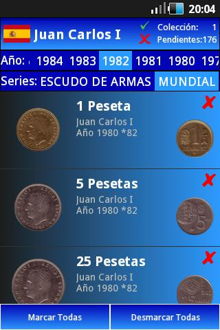 My Pesetas- screenshot