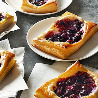 Blueberry Cream Cheese Pastries.