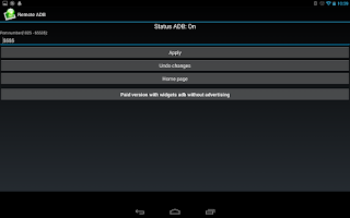 Screenshot of [root] Remote ADB