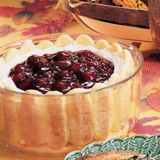Ladyfinger Trifle.