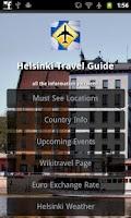Screenshot of Helsinki Travel Guide
