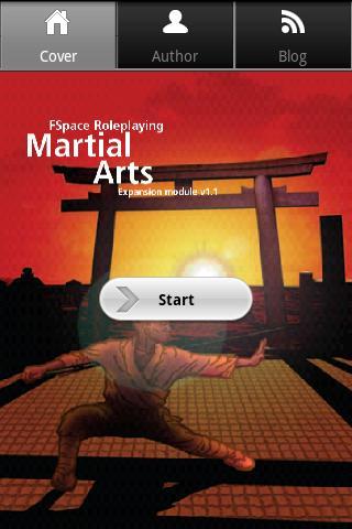 FSpaceRPG Martial Arts