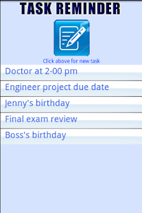 Easy Task Reminder - screenshot thumbnail