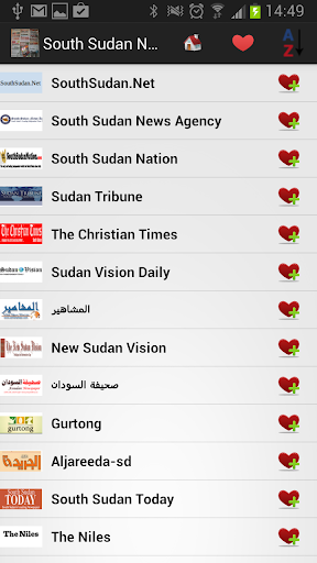 南苏丹报纸