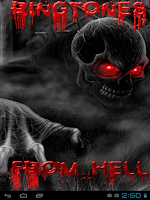 Screenshot of Wallpapers&Ringtones From Hell
