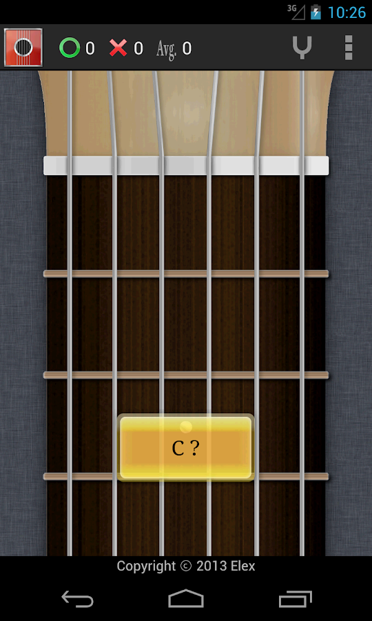 guitar chord scale tuner met android apps on google play. Black Bedroom Furniture Sets. Home Design Ideas