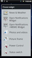 Screenshot of Open Notifications+MEMO