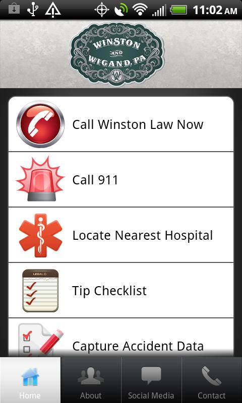 Winston Law- screenshot