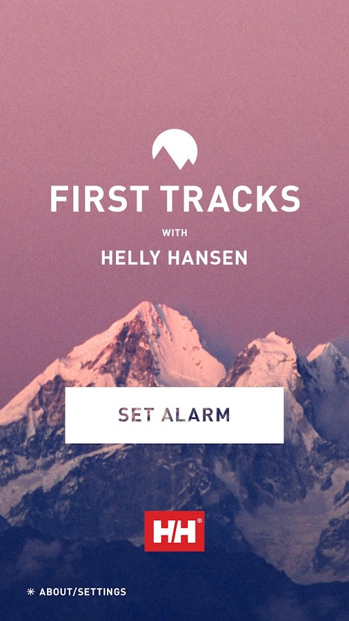 First Tracks with Helly Hansen - screenshot