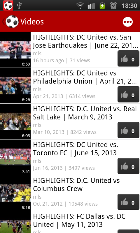 D.C. United Fan - screenshot