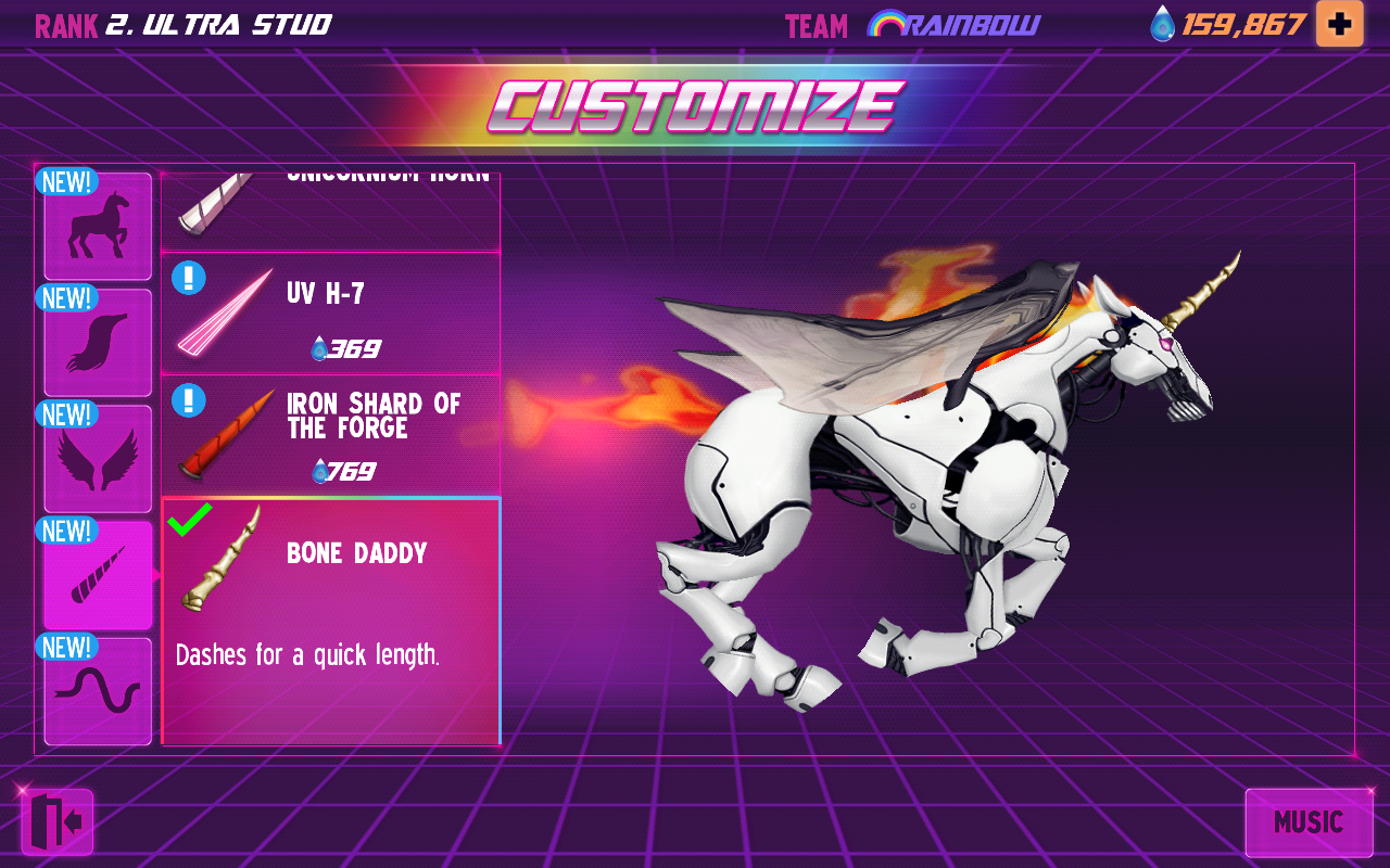 Robot Unicorn Attack 2 - screenshot