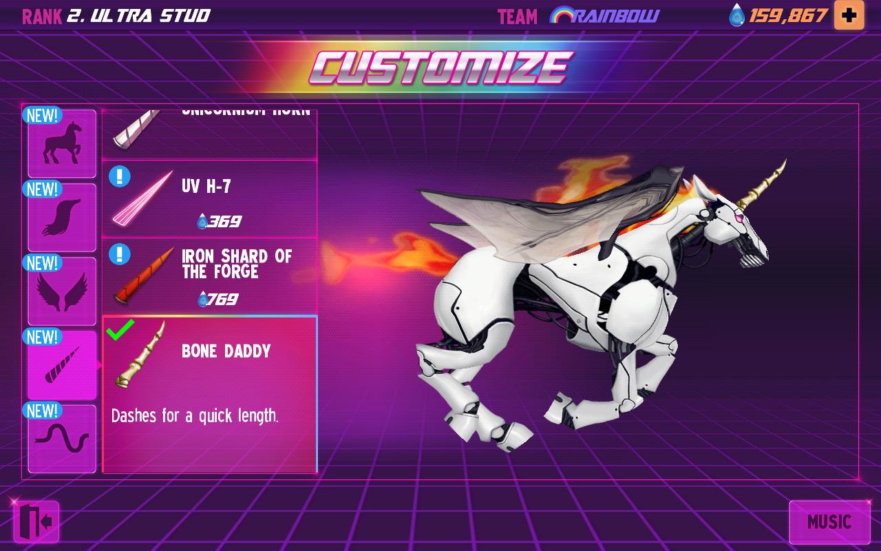 Robot Unicorn Attack 2 screenshot #6