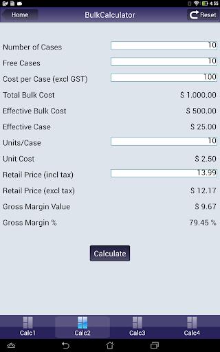 【免費商業App】BulkCalculator-APP點子