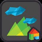 Paper Craft Dodol Theme icon
