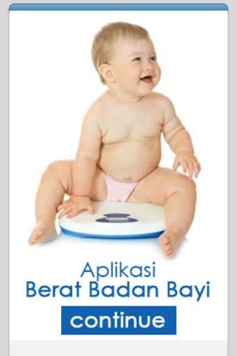 Kalkulator Berat Bayi Ideal