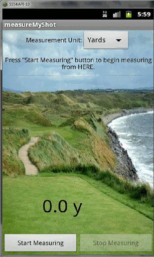 Measure My Golf Shot