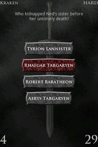 Game of Thrones Trivia PRO - screenshot