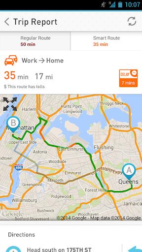 7 News Traffic Tracker