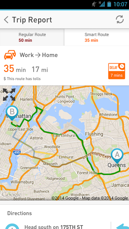 7 News Traffic Tracker- screenshot