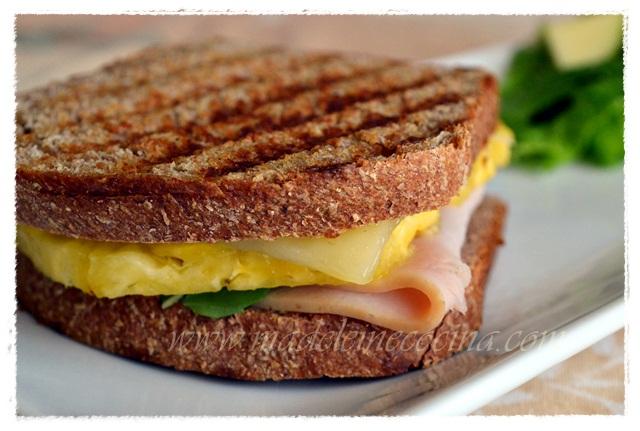 Ham, Cheese, and Pineapple Sandwich Recipe