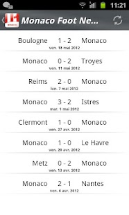 Monaco Foot News - screenshot thumbnail