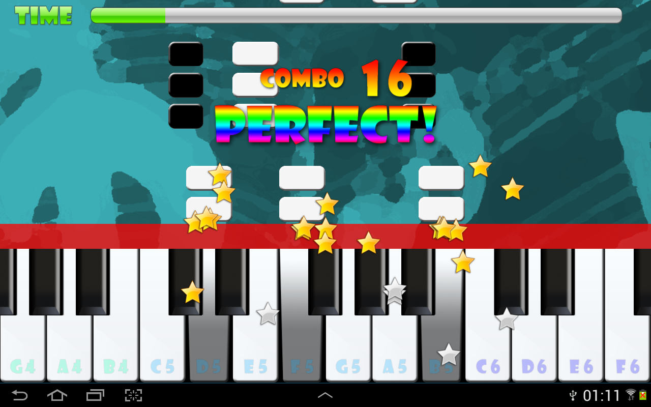Piano Master National Anthems - screenshot