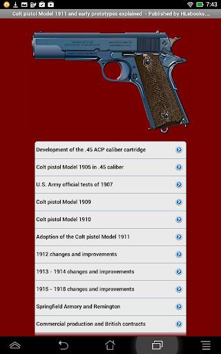 Colt pistol Model 1911
