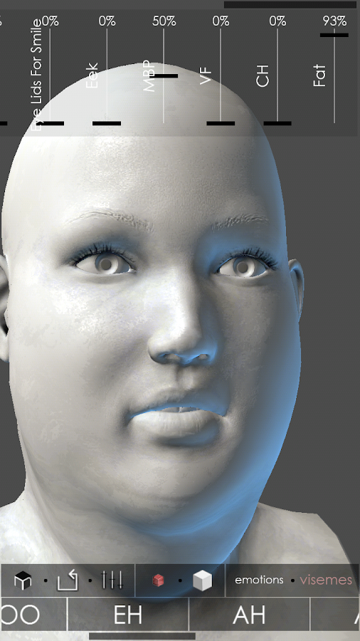 MARA3D Facial Expressions - screenshot