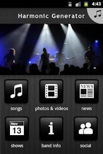 Harmonic Generator- screenshot thumbnail
