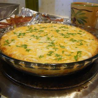Easy Cheesy Asparagus Frittata