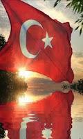 Screenshot of Şanlı Türk Bayrağı (Hareketli)