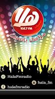 Screenshot of Hala FM