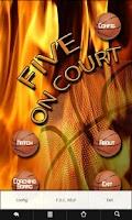 Screenshot of Basketball FiveOnCourt