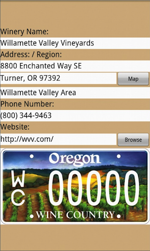 玩旅遊App|Oregon Winery for Tablets免費|APP試玩