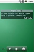 Screenshot of Religious Quotes