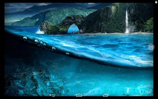 玩免費個人化APP|下載海の表面の下で。 app不用錢|硬是要APP