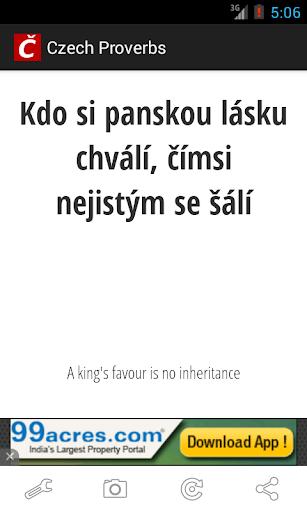 免費生活App|Czech Proverbs|阿達玩APP