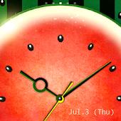 WaterMelon-Clock
