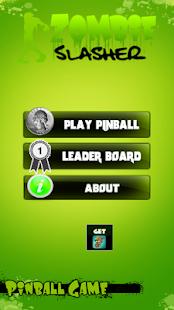 Zombie Slasher Pinball