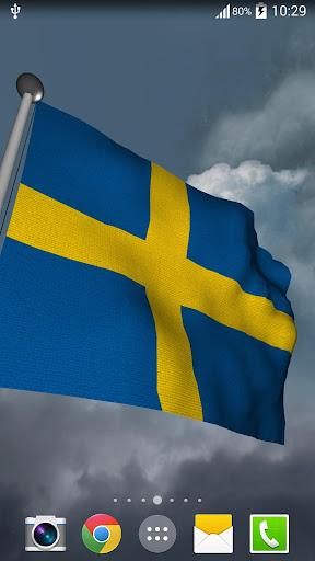 Sweden Flag + LWP