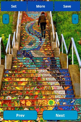 Stairs art wallpapers