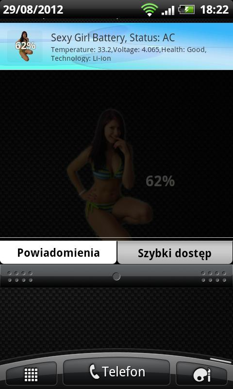 Sexy Girl Battery - screenshot