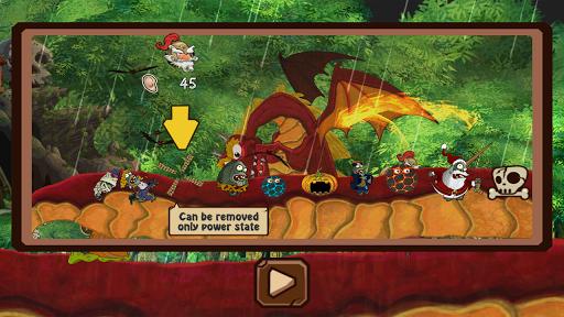 Dragon vs Don Quixote Knight