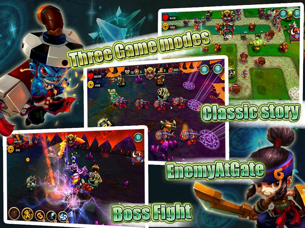Demon Avengers TD - screenshot