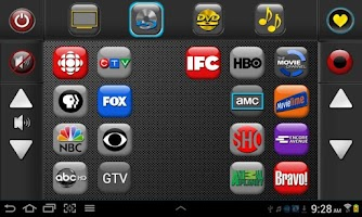 Screenshot of Touchsquid GR Home Remote