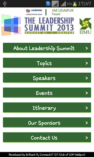 IIM Udaipur Leadership Summit